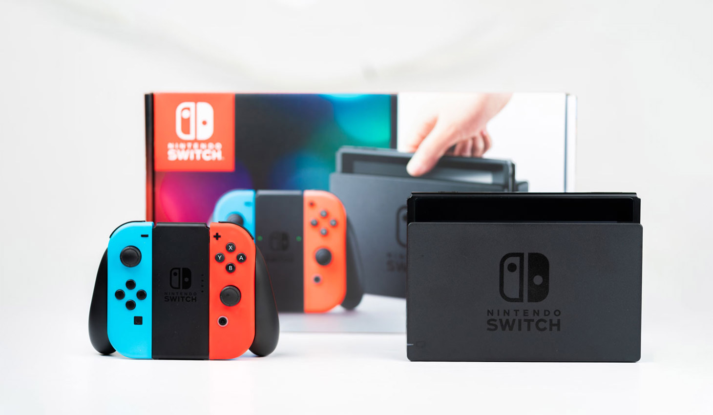 Nintendo switch controller and package