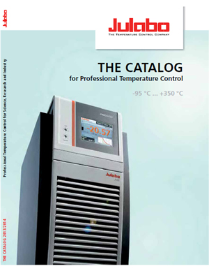 JULABO Catalog cover