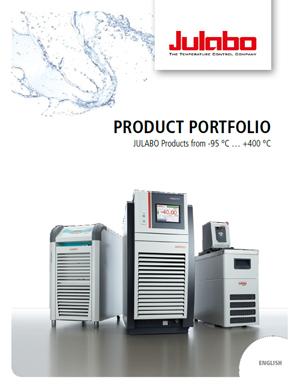 Product Portfolio Brochure cover