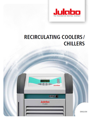 Recirculating Coolers/Chillers Brochure cover