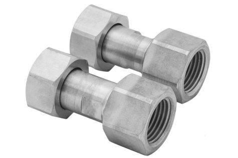 """Adapter 8891656 M24x1.5 f to NPT 3/4"""" f from JULABO USA"""